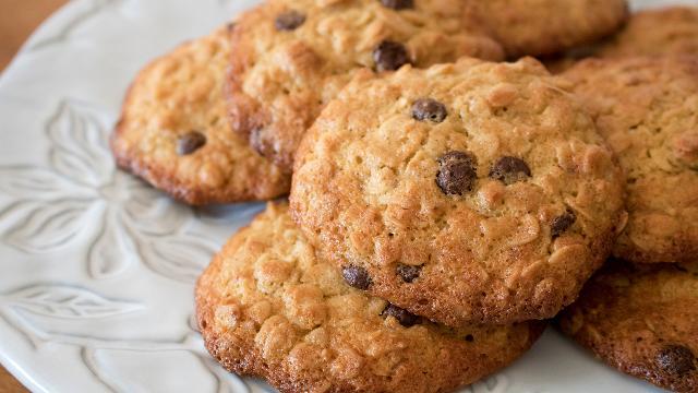 Deliciosas cookies de avena