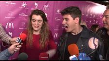Amaia y Alfred tranquilos ante Eurovisión