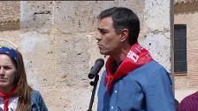 """Sánchez acusa al PP de tener un """"máster en engaño"""""""