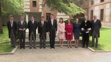 Los Reyes reaparecen cómplices en el Premio Cervantes