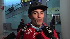"""Márquez zanja el asunto Rossi: """"Se me da mejor hablar en la pista y es donde hace más efecto"""""""