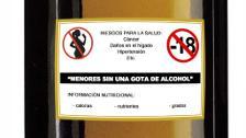 El Congreso propone que el alcohol lleve etiquetas disuasorias