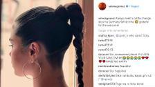 Selena Gómez cambia de peinado