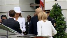 Primera visita de Estado de un presidente a la Casa Blanca desde que llegó Donald Trump