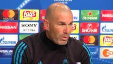"""Zidane: """"No podemos cagarnos en los pantalones"""""""