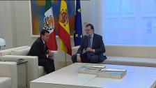 Enrique Peña Nieto se reúne en España con Rajoy