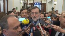 """Rajoy: """"Cifuentes ha hecho lo que tenía que hacer, era obligada su dimisión"""""""