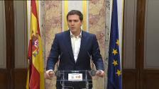 """Ciudadanos descarta la moción en la CAM y espera que Rajoy no tarde en designar a un """"presidente interino limpio"""""""