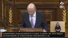 """Montoro defiende los PGE para cerrar el legado de la """"crisis"""""""
