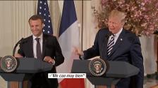 Marcon se va de Estados Unidos sin conseguir que Trump cambie de opinión sobre el acuerdo nuclear de Irán