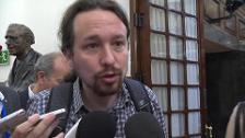 """Iglesias:""""Ojalá se investigue quién guardó el vídeo"""""""