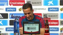 Rueda de prensa Lucas Vázquez