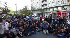 MULTITUDINARIA MANIFESTACIÓN EN VITORIA CONTRA LA SENTENCIA DE 'LA MANADA'
