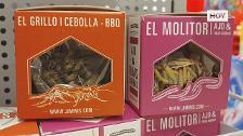¿Serías capaz de comerte un grillo o un gusano?