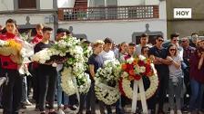 Funeral por el joven fallecido en Villar del Rey