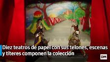 Exposición sobre la historia de los teatrillos de papel en el Casyc