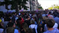 Protesta en Cantabria contra la puesta en libertad de los miembros de 'La Manada'