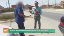Agreden a un periodista de 7TV durante la grabación de un reportaje en Los Ramos