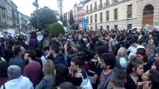 Granada se manifiesta en contra de la sentencia de 'La Manada'