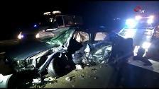 Accidente mortal en la N-232 en Corera