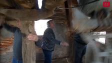 Volteo de las campanas de la Iglesia de San Pedro ad Vincula en Villota del Páramo