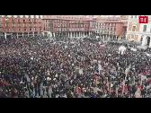 Más de 2.000 personas se concentran contra la sentencia de La Manada en Valladolid