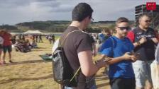 Miles de personas acceden al recinto de Músicos en la Naturaleza